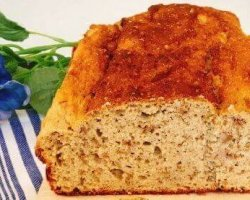 Low-Carb-Bananenbrot