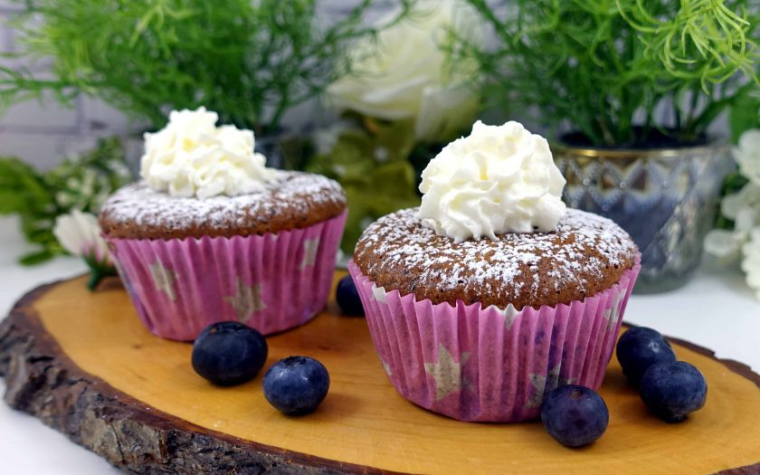 Low Carb Blaubeermuffins