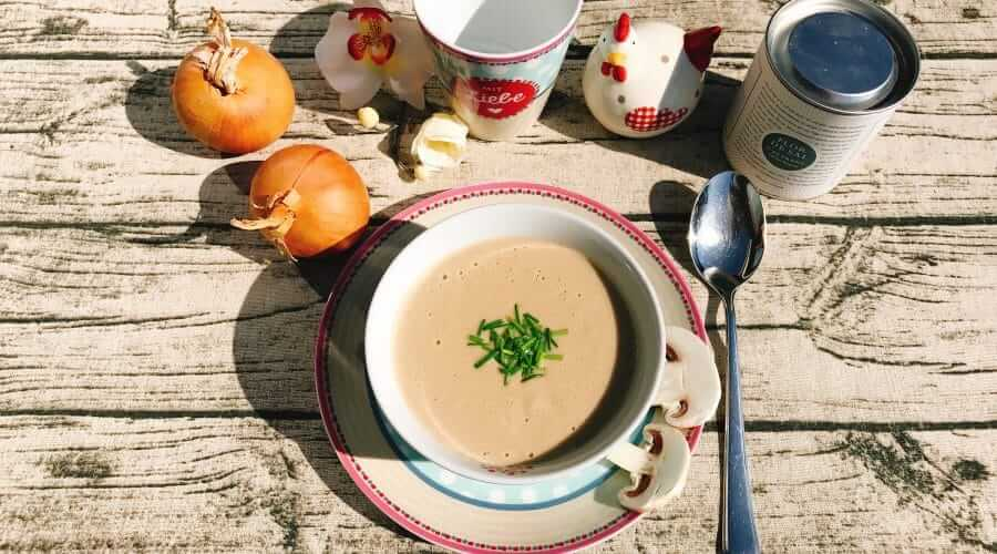 Low Carb Champignonsuppe