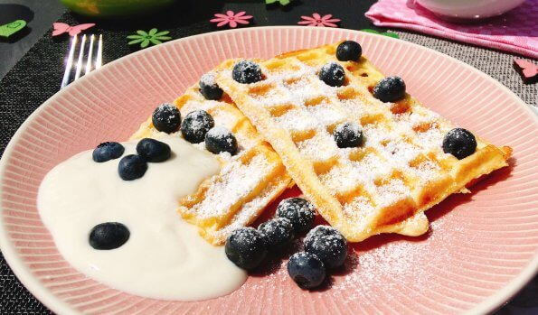 Low Carb Waffeln ohne Mehl