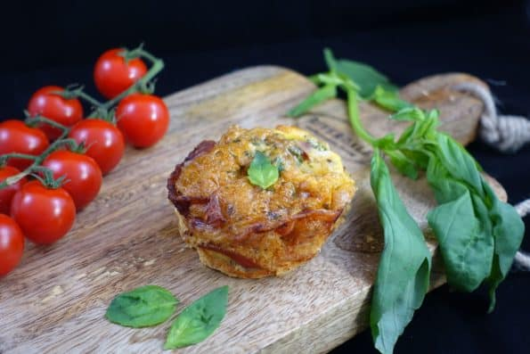 ow Carb Eier-Muffins mit Bacon