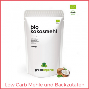 Low Carb Mehle und Backzutaten