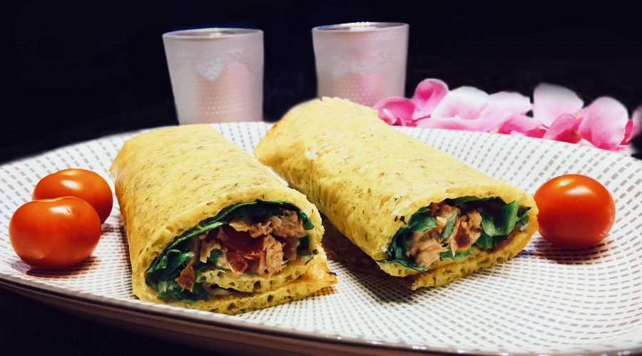 Low Carb Wrap Basisrezept