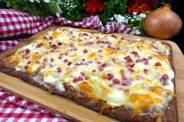 Low Carb Flammkuchen